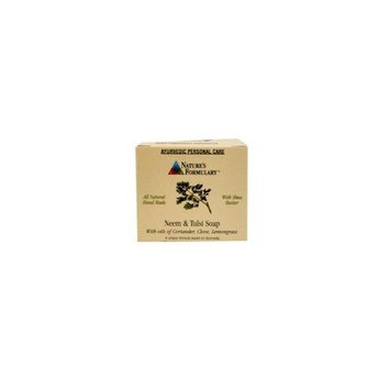 Ayurvedic Soap - Neem & Tulsi Nature's Formulary 3 oz Bar