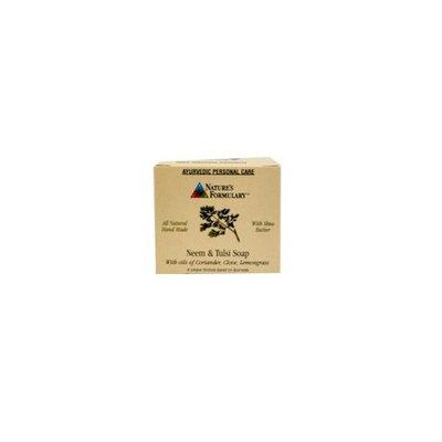 Ayurvedic Soap - Neem & Tulsi Nature's Formulary 3 oz Bar