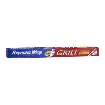 Reynolds Wrap 37.5 Sq Ft Grill Heavy Duty Non-Stick Aluminum Foil