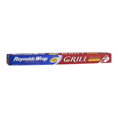 Reynolds® Wrap Grill Heavy Duty Non-Stick Aluminum Foil