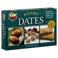 Amport Foods Pitted Dates 8 Oz (Pack of 12)