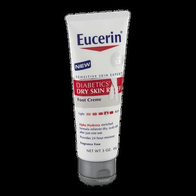 Eucerin Diabetics' Dry Skin Relief Foot Creme