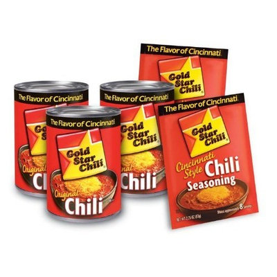 Gold Star Original Chili, 10-ounce Can (Pack of 8)