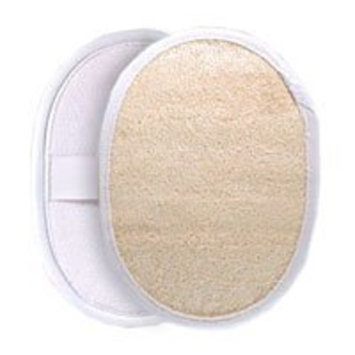 Retail Imports Natural Oval Loofah Body Scrubber - 3 ea