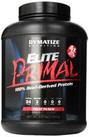 Dymatize Elite Primal Diet Supplement, Fruit Punch, 4.1 Pound