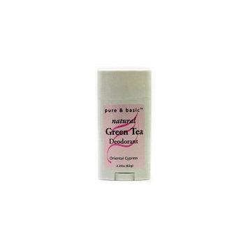 Pure & Basic Deodorant Stick - Oriental Cypress , 2.5 oz