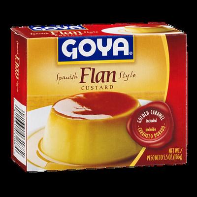 Goya Flan Custard Spanish Style