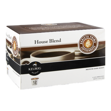 Barista Prima Coffee House Keurig Brewed Medium-Dark Roast House Blend K-Cups - 12 CT