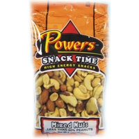 Powers Mixed Nut, 6-Ounce (Pack of 6)