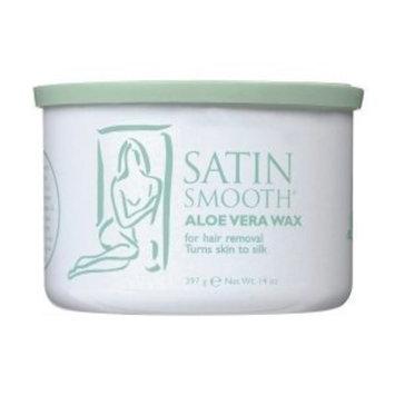 Satin Smooth- Aloe Vera Epilating Wax- For Hair Removal 14oz