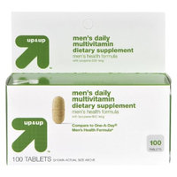 up & up up&up Men's Daily Multivitamin Tablets - 100 Count