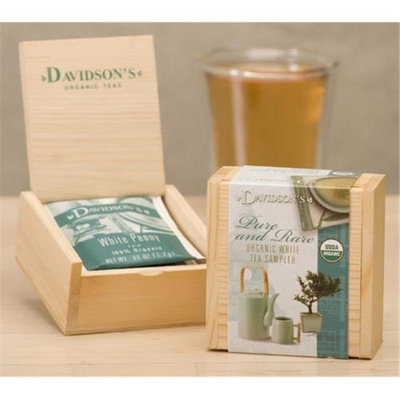 Davidson's Tea Davidson Organic Tea 642 Sampler Chest White Tea
