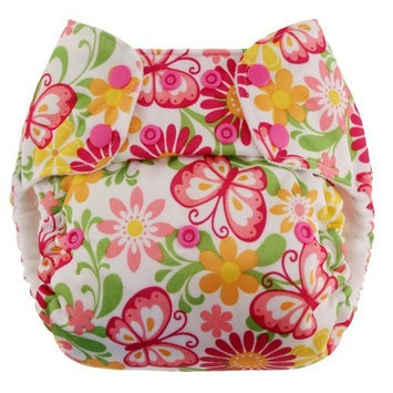 Swaddlebees One Size Simplex All In One Diapers, Butterflies (Discontinued by Manufacturer)