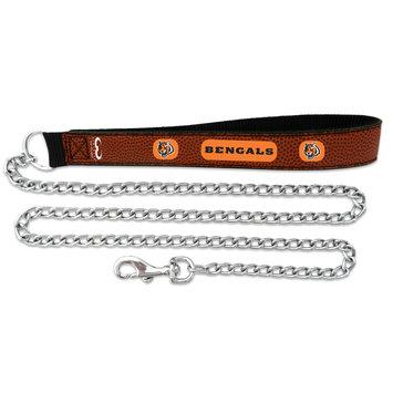 Game Wear Inc NFL Cincinnati Bengals Leather Chain Leash LG