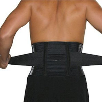 Captain Sports Tri-Adjustable Back Support with Stabilizers Size: Large / X-Large