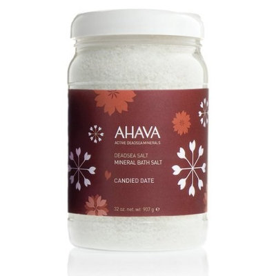 AHAVA Dead Sea Mineral Bath Salt, 32 oz.