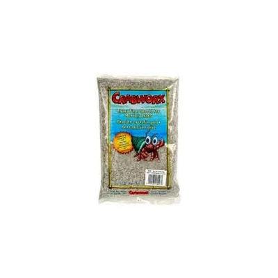 Crabworx Extra Fine Crab Gravel, 4.4-Pound, Rainbow