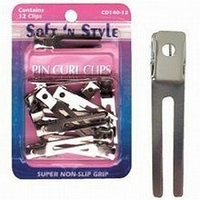 SOFT 'N STYLE Double Prong Pin Curl Clips HC-CD14012