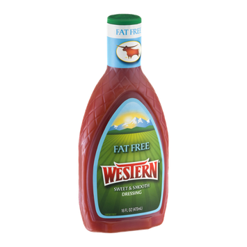 Western Sweet & Smooth Dressing Fat Free