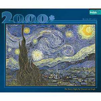 Buffalo Games Starry Night 2000 pc Jigsaw Puzzle Ages 10+