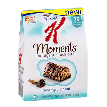 Special K® Kellogg's Moments Indulgent Snack Bites Dreamy Coconut