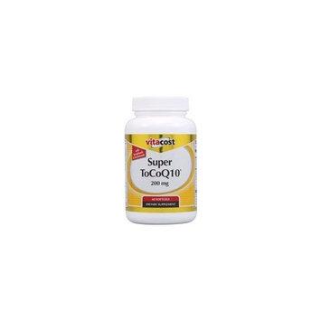 Vitacost Brand NSI Super Tocoq10 -- 200 mg - 60 Softgels