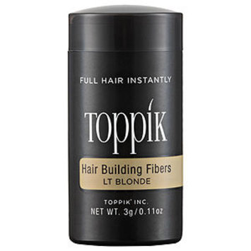 Toppik Hair Building Fibers, Light Blonde, .11 oz