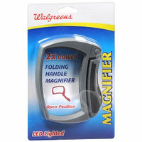 Walgreens Led Magnifold 2X Rectangular Folding Magnifier