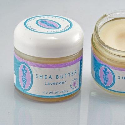Brigit True Organics- LAVENDER Shea Butter, 1.7 oz. (99.5% ORGANIC)