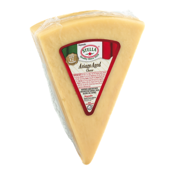 Stella Asiago Aged Cheese Wedge