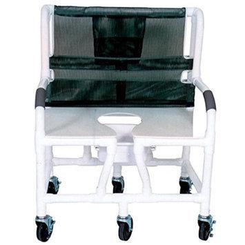 MJM International 130-5-DDA-NC Bariatric shower chair 30 in.
