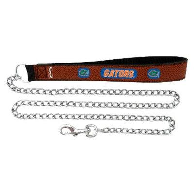 GameWear Florida Gators Football Leather 2.5mm Chain Leash - M