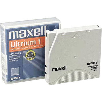 Maxell Universal Dry Process Cleaning Cartridge for LTO Ultrium 1, 2 & 3, 50 Uses-183804-CA