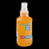 Kiss My Face Sunscreen Sun Spray Oil SPF 30