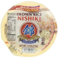 Nishiki Cooked Brown Rice, 7.4-Ounces (Pack of 6)