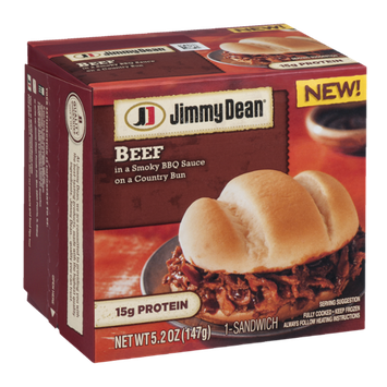 Jimmy Dean Beef Sandwich