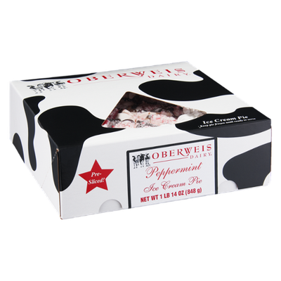 Oberweis Dairy Ice Cream Pie Peppermint