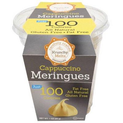 Krunchy Melts Cappuccino Meringues Cookies, 1 oz, (Pack of 12)