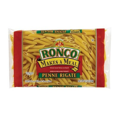 Ronco Penne Rigate, 12-Ounce (Pack of 12)