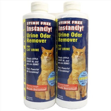Stink Free Instantly 2 Pack Urine Odor Remover For Cats
