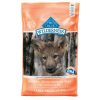 Blue Buffalo BLUE WildernessTM Grain Free Large Breed Puppy Food