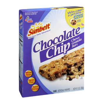 Sunbelt Chocolate Chip Chewy Granola Bars - 8 CT