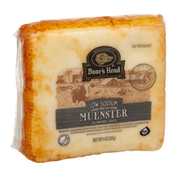 Boar's Head Low Sodium Muenster Cheese
