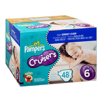 Pampers Cruisers Size 6 Sesame Street Diapers - 48 CT