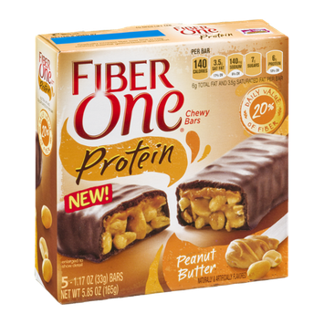 Fiber One Chewy Bars Protein Peanut Butter
