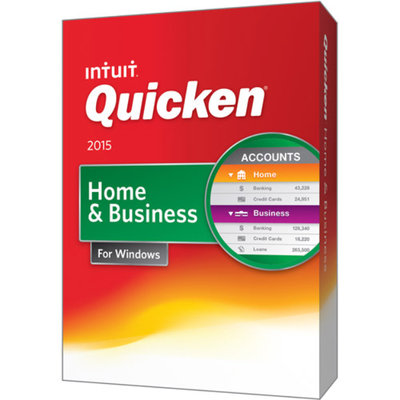Intuit Quicken 2015 Home and Business (PC)