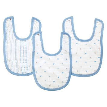 aden + anais Aden & Anais oh boy! 100% cotton muslin little bib