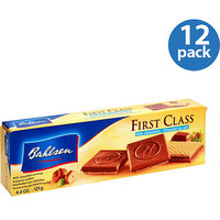 Bahlsen First Class Milk Chocolate Covered Hazelnut Wafers