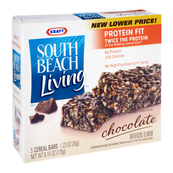 Kraft South Beach Living Chocolate Cereal Bars