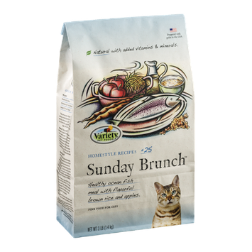 Variety Fine Cat Food Homestyle Recipes #25 Sunday Brunch